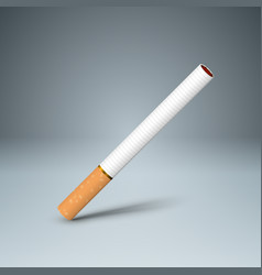 Business of a cigarette and harm vector