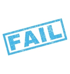 Fail Rubber Stamp vector image