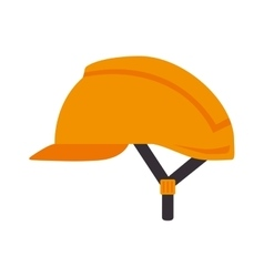 Helmet security industrial equipment vector