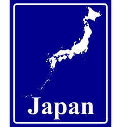 Japan vector image