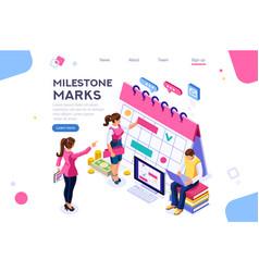 mark important service concept vector image