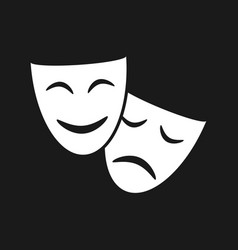 Masks icon vector