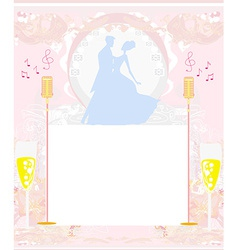 invitation to the prom dance vector image