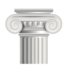 object roman or greek column vector image vector image