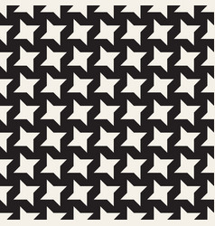 star line shapes grid seamless black and vector image