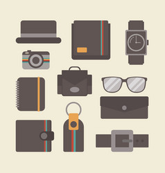 455retro gadget set vector
