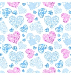 Bright openwork seamless pattern vector image