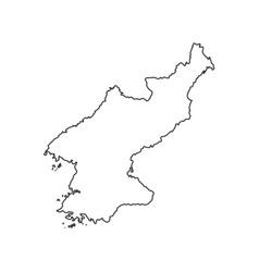 democratic peoples republic of korea vector image