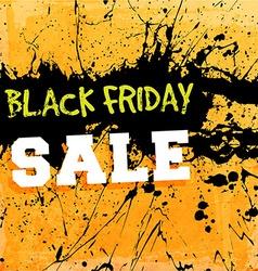 Black friday sale sign vector