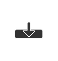 Arrow icon logo template design vector