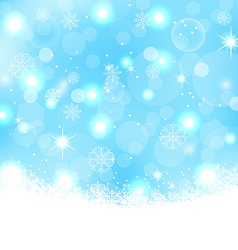 Christmas abstract background with snowflakes vector