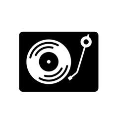 dj music instrument icon design template vector image