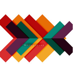 Multicolored abstract geometric shapes geometry vector