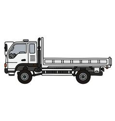 Small terrain truck vector