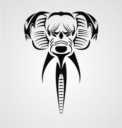 Tribal Elephant vector image