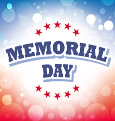 Us memorial day banner 1 vector