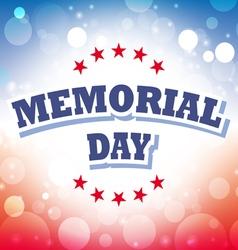 us memorial day banner 1 vector image