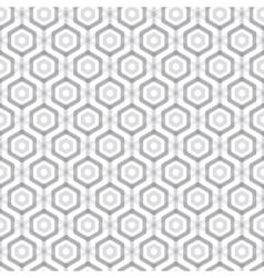 Abstract hexagonal seamless pattern vector image