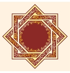 Asian style ornament vector