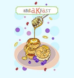 Breakfast cover vector