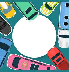 car rent or buying choosing vector image