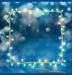 Christmas optical defocus effect eps 10 vector