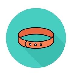 Collar icon vector