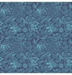 Indian Paisley Pattern vector image