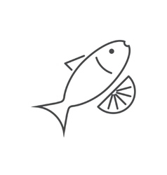 modern thin line icon on white vector image