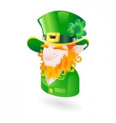 leprechaun icon vector image