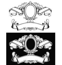 Duo Of One Color Horizontal Royal vector image vector image