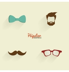 Abstract Hipster Symbols vector