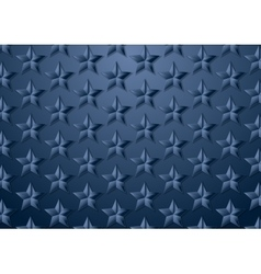 Blue stars corporate texture background vector image