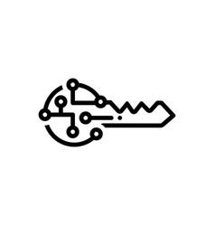 Digital key vector