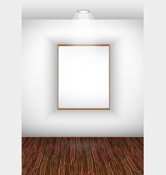 Elegant showroom vector