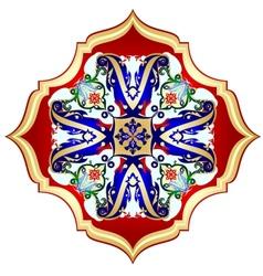 Oriental pattern-4 vector