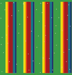 Rainbow vintage stripes seamless pattern vector