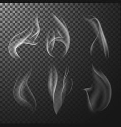 transparent match smoke vector image