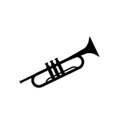 Trumpet icon design template vector