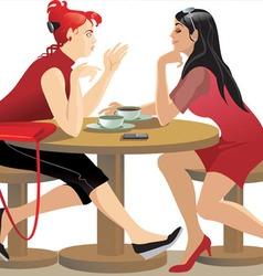 Girlfriends vector