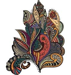Stylish vintage floral vector image vector image