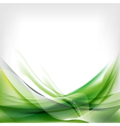 Abstract wave on background vector image