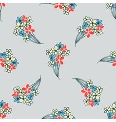 floral flavor pattern vector image