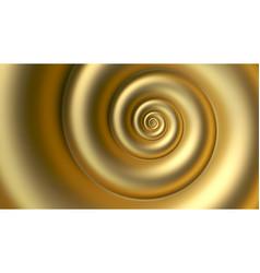 Abstract fibonacci golden spiral background vector