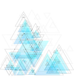 abstract polygonal low poly background with vector image