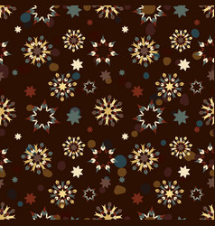 abstract seamless background of abstract patterns vector image