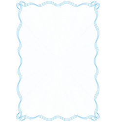 Blue frame border with security protective grid vector
