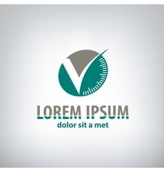 compass corporate logo vector image