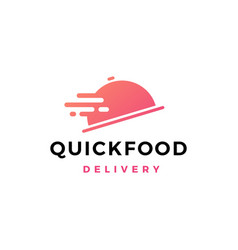 fast quick food logo icon vector image