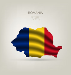Flag of Romania as a country vector